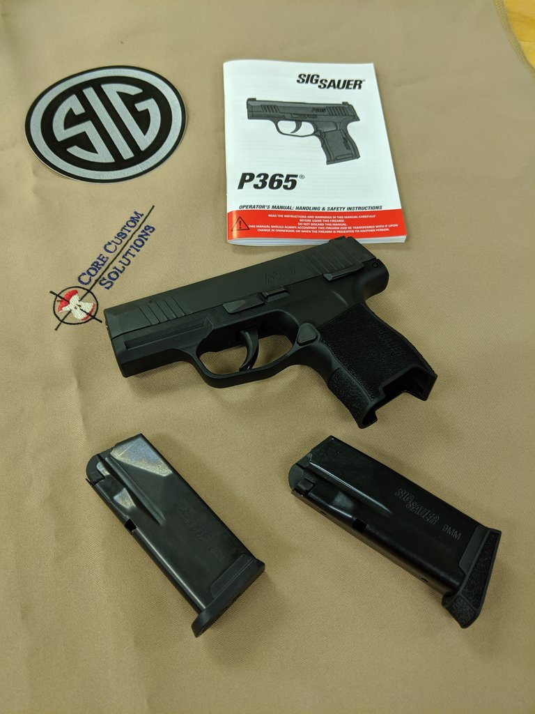Core Custom Solutions LLC - P365 For Sale